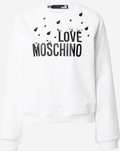 Love Moschino Sweatshirt in schwarz / weiß, Produktansicht