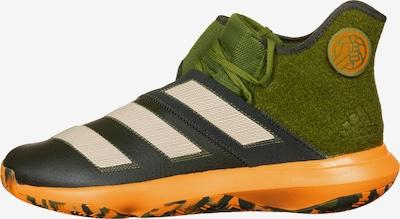 ADIDAS PERFORMANCE Basketballschuh 'Harden B/E 3' in creme / grün / grasgrün / orange, Produktansicht