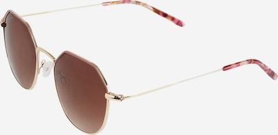 TAMARIS Sonnenbrille '58006' in gold / mischfarben / rot, Produktansicht
