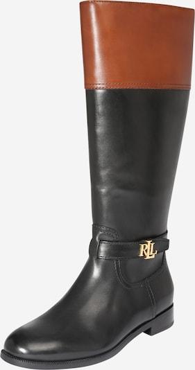 Cizme 'Baylee' Lauren Ralph Lauren pe maro închis / negru, Vizualizare produs