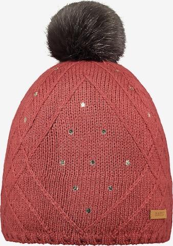 Barts Bommelmütze in Rot
