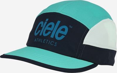 CIELE ATHLETICS Athletic Cap in Turquoise / Smoke blue / Dark blue / White, Item view