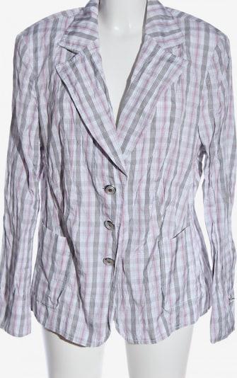 JOBIS Kurz-Blazer in 4XL in hellgrau / pink / weiß, Produktansicht