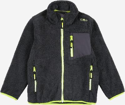 CMP Athletic Fleece Jacket in Grey / Apple, Item view