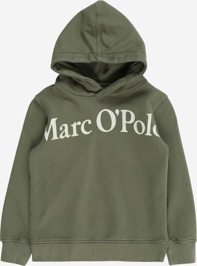 Marc O'Polo Junior Sweatshirt in de kleur Olijfgroen / Lichtgroen, Productweergave