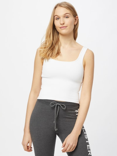 Abercrombie & Fitch Top in White, View model