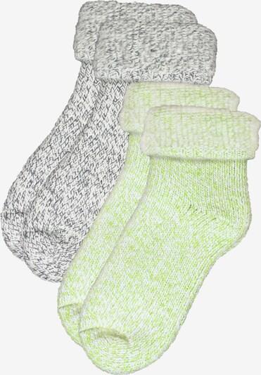 ROGO Socken in grau / grün, Produktansicht