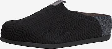 JANA Slippers in Black