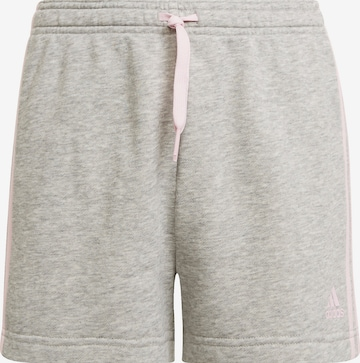 ADIDAS PERFORMANCE Sports trousers 'Sporthose 3S' in Grey