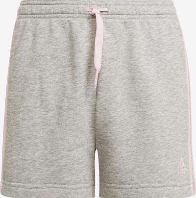 ADIDAS PERFORMANCE 'Sporthose 3S' in graumeliert / hellpink, Produktansicht