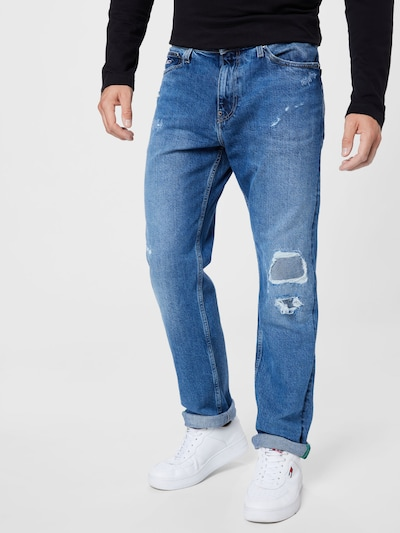 Jeans 'ETHAN' Tommy Jeans pe albastru denim, Vizualizare model