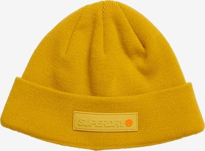 Superdry Bonnet en jaune, Vue avec produit