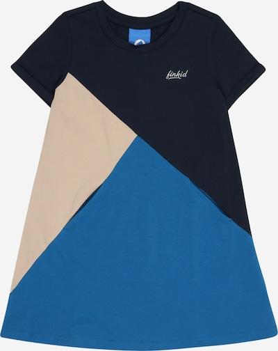 FINKID Kleid 'MERIKORTTI' in beige / navy / himmelblau, Produktansicht