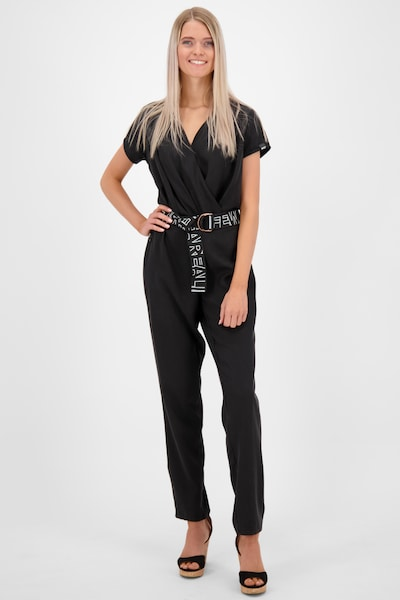 Alife and Kickin Jumpsuit in schwarz, Modelansicht