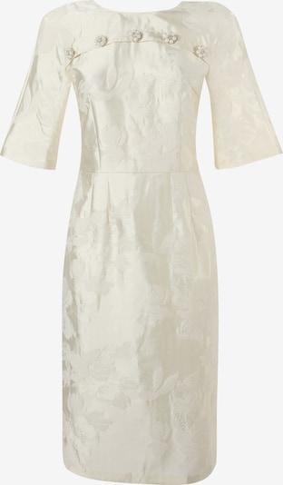 Madam-T Kokerjurk 'Noella' in de kleur Wit, Productweergave