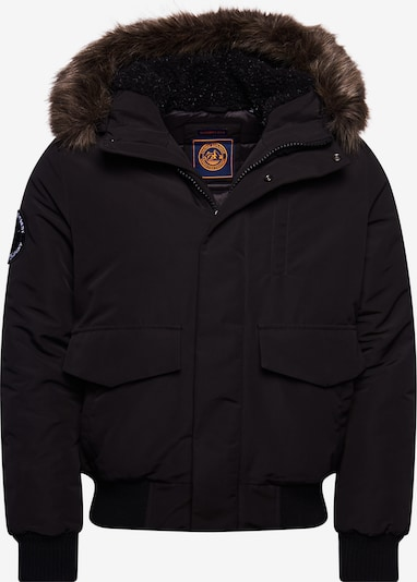 Superdry Winterjas 'Everest' in de kleur Zwart, Productweergave