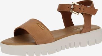SCAPA Sandale in Braun
