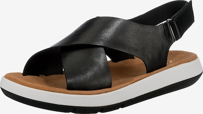 CLARKS Sandales 'Jemsa' en noir, Vue avec produit