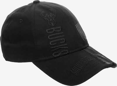 NEW ERA 9FIFTY NBA 19 Tip Off Series Milwaukee Bucks Strapback Cap in schwarz, Produktansicht