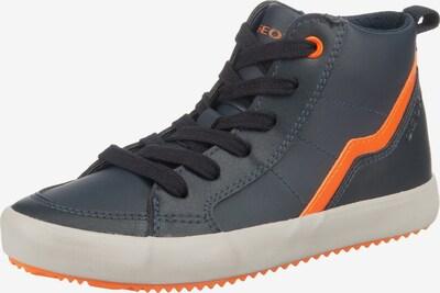 GEOX Sneaker 'ALONISSO ' in grau / orange, Produktansicht
