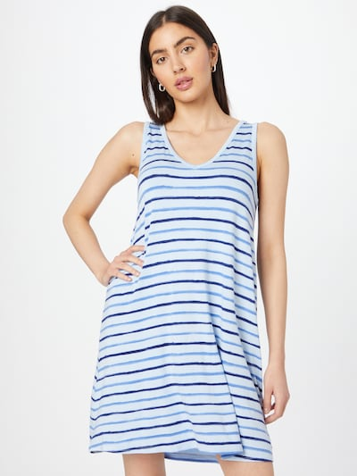 Vasarinė suknelė 'RAYON SWING' iš GAP, spalva – mėlyna / šviesiai mėlyna / tamsiai mėlyna / balkšva, Modelio vaizdas