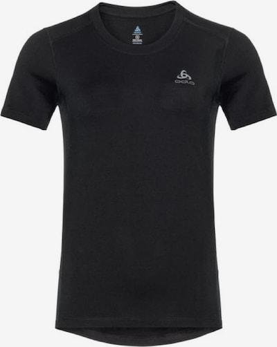 ODLO T-Shirt 'SUW TOP Crew neck s/s' in schwarz, Produktansicht