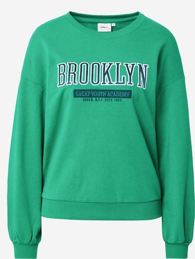 ONLY Sweatshirt 'Eda' in navy / hellgrün / weiß, Produktansicht