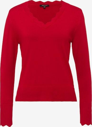 MORE & MORE Feinstrick-Pullover in rot, Produktansicht
