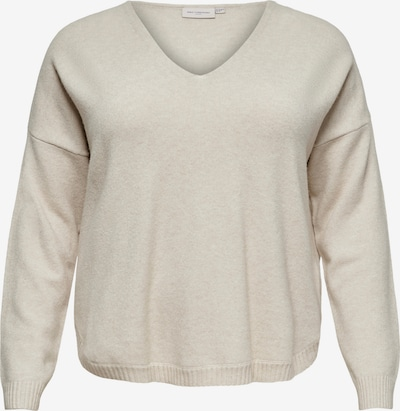 ONLY Carmakoma Sweater 'MARGARETA' in Beige, Item view