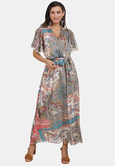 usha FESTIVAL Sommerkleid in aqua / mischfarben / weiß, Modelansicht