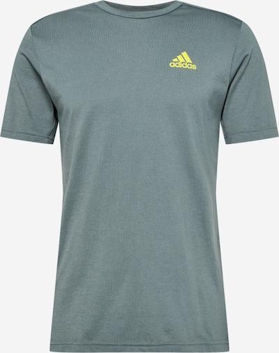 ADIDAS PERFORMANCE Funkční tričko - pastelová modrá / žlutá, Produkt