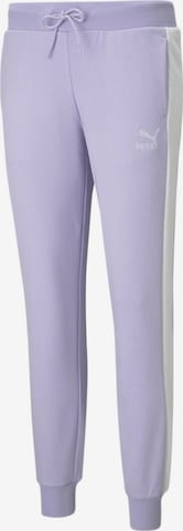 Pantalon de sport PUMA en violet
