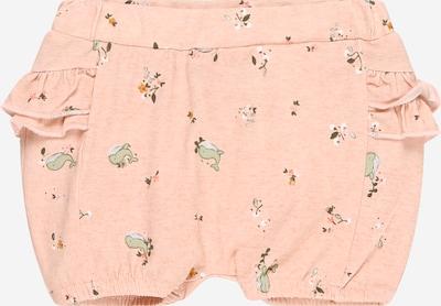 NAME IT Pantalon 'Feline' en mélange de couleurs / rose clair, Vue avec produit