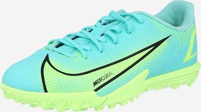 NIKE Sportschoen 'Vapor 14 Academy' in de kleur Turquoise / Neongeel / Zwart, Productweergave