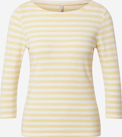 ONLY T-shirt 'FIFI' en jaune / blanc, Vue avec produit