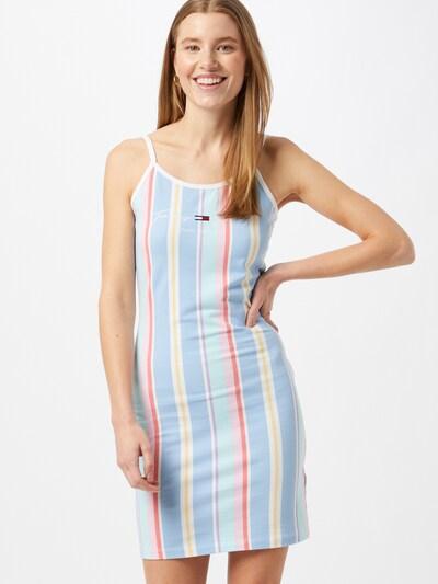 Tommy Jeans Kleid in hellblau / mischfarben, Modelansicht