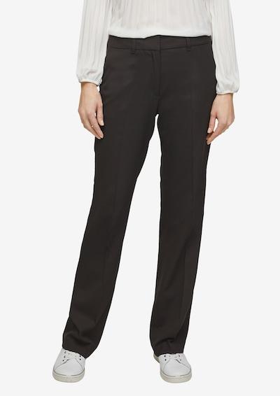 s.Oliver BLACK LABEL Kalhoty s puky - černá, Model/ka