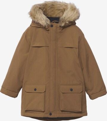 Manteau 'Suzi' MANGO KIDS en marron