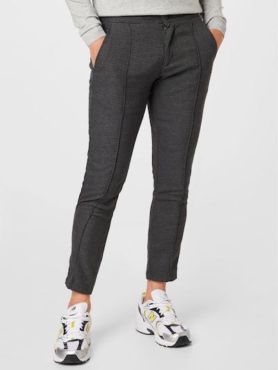 !Solid Chino hlače u tamo siva / crna, Prikaz modela