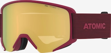 ATOMIC Sportbrille 'SAVOR BIG STEREO' in Rot