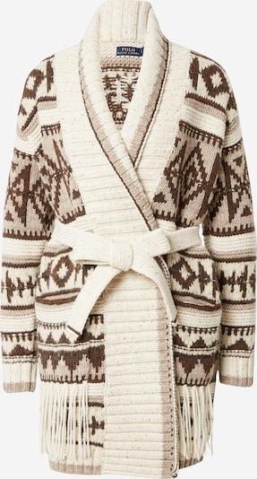 Palton tricotat POLO RALPH LAUREN pe bej / maro, Vizualizare produs