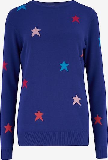 Sugarhill Brighton Pullover 'Rita' in blau / himmelblau / hellpink / rot, Produktansicht