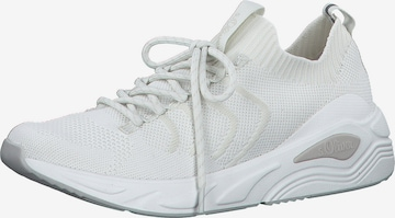 Sneaker low de la s.Oliver pe alb