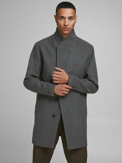 JACK & JONES Mantel in grau, Modelansicht