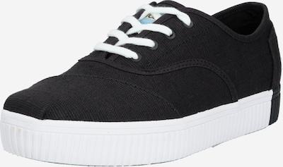 TOMS Sneaker 'CORDONES INDIO' in schwarz / weiß, Produktansicht