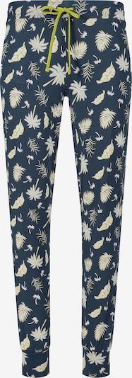 Skiny Pyjamabroek in de kleur Nachtblauw / Appel / Wit, Productweergave