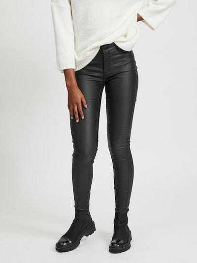 Džinsai 'Vicommit' iš VILA , spalva - juodo džinso spalva, Modelio vaizdas