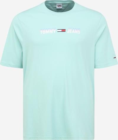 Tommy Jeans Plus T-Shirt en bleu marine / bleu clair / rouge clair / blanc, Vue avec produit