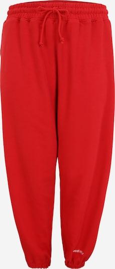 Public Desire Curve Püksid punane / valge, Tootevaade