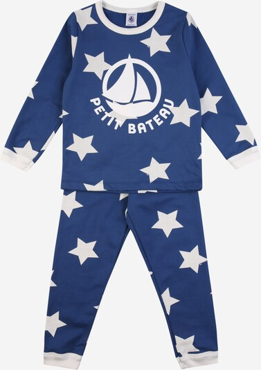 PETIT BATEAU Schlafanzug in blau / weiß, Produktansicht